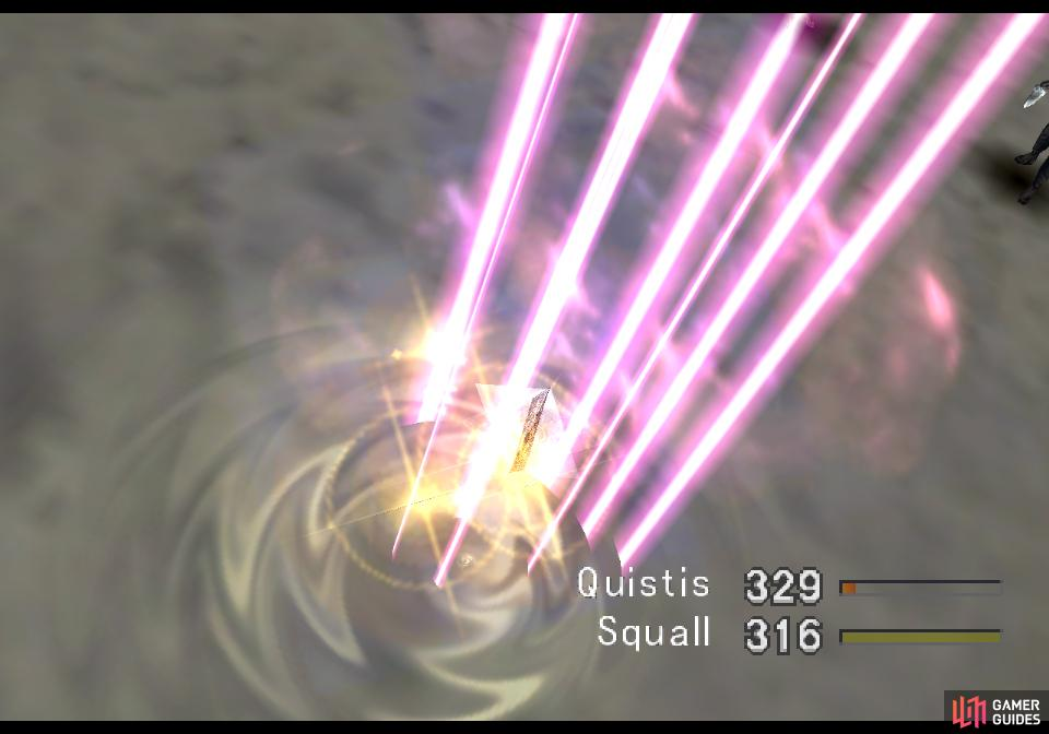 so Squall can Card them.