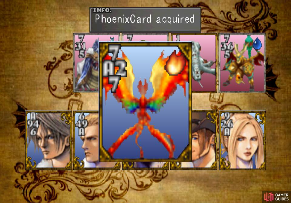 and win his Phoenix Card.