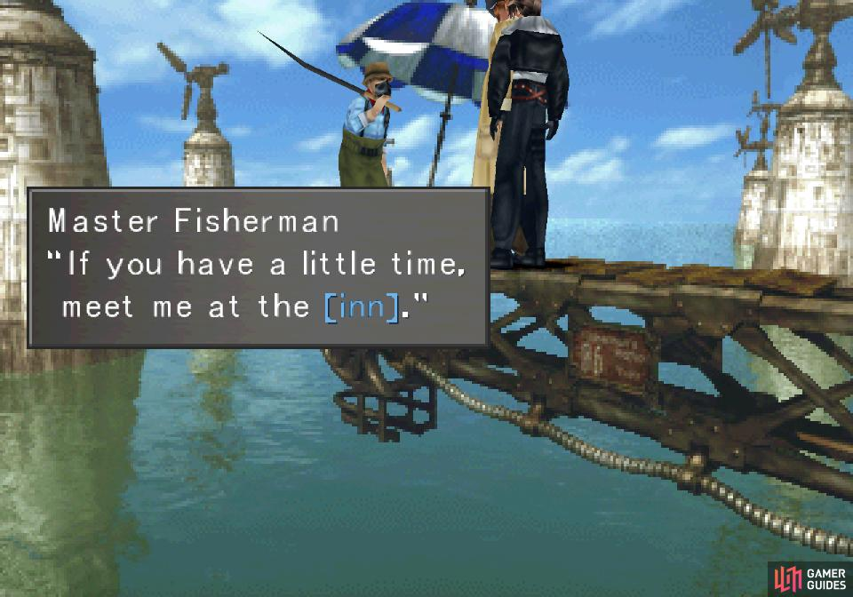 Talk to the Master Fisherman and he'll make another request of you