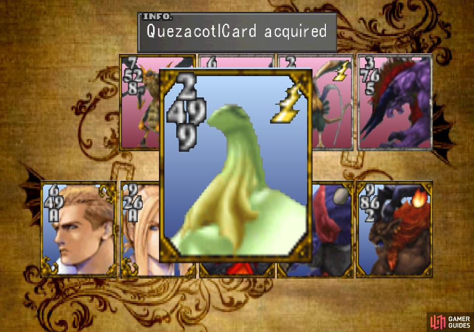 don't let the rocky diplomacy stop you from winning the Quezacotl Card from the mayor