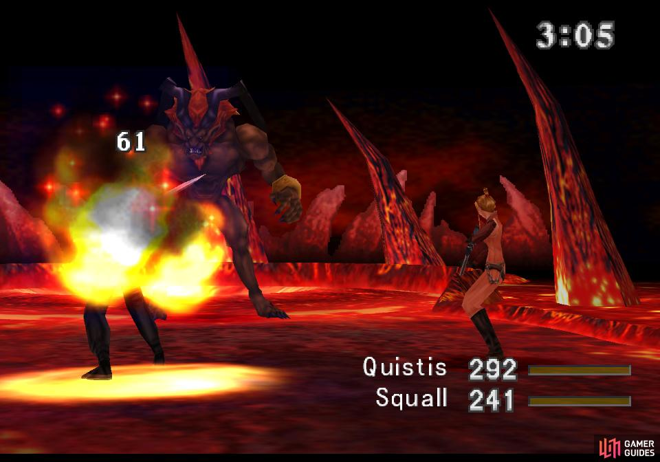 Ifrit will attack mainly with Fire, backed up by the odd physical strike
