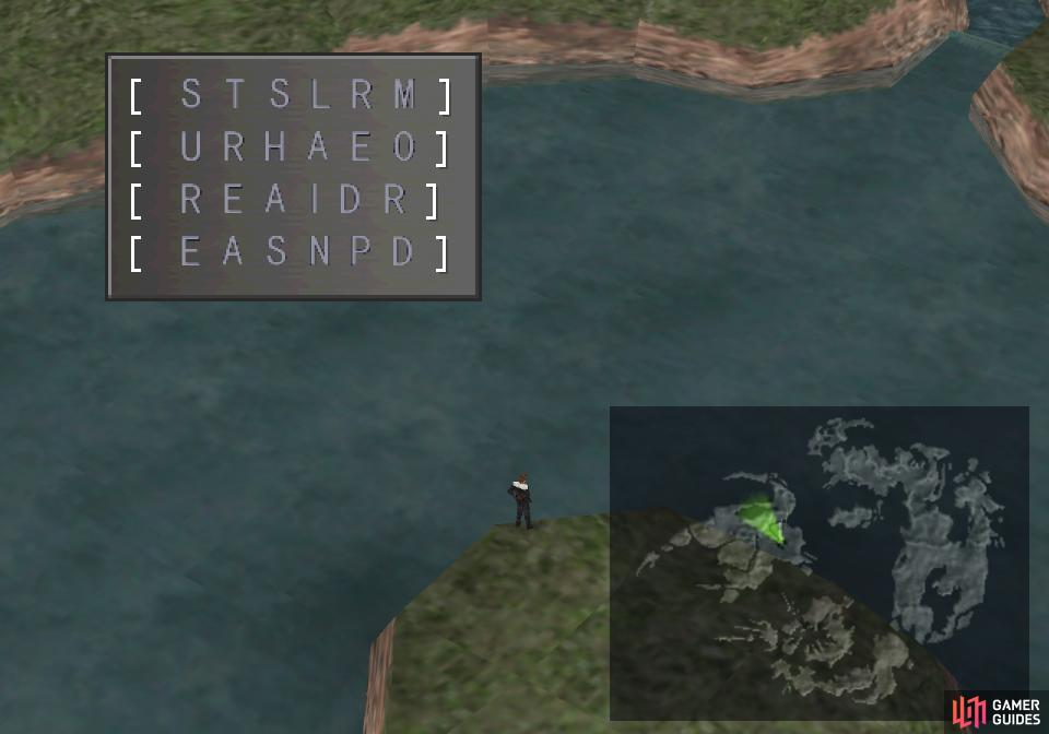 Return to the Obel Lake creature to compile your clues, revealing a hidden message.