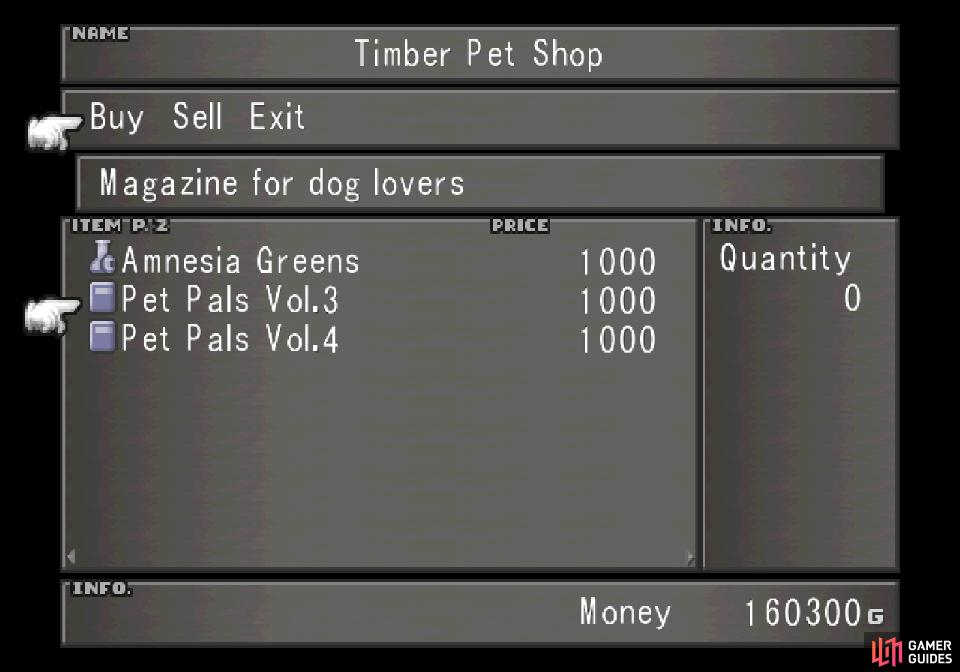 Return to the now-open Timber Pet Shop to acquire more skills for Angello