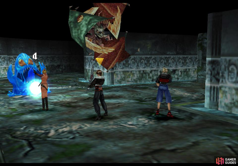 Enemies in the tomb include the Blobra, which takes little damage from melee