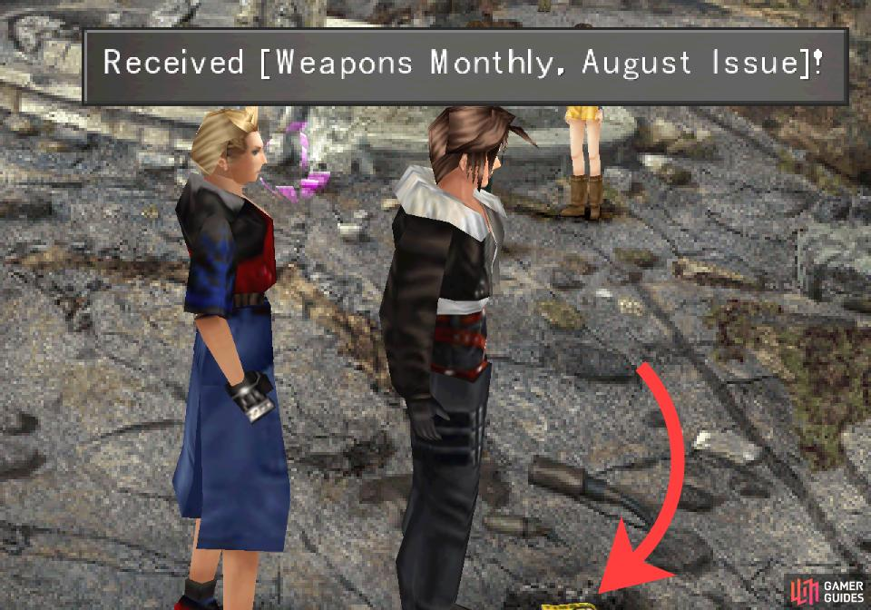Grab a well-hidden copy of Weapons Mon August