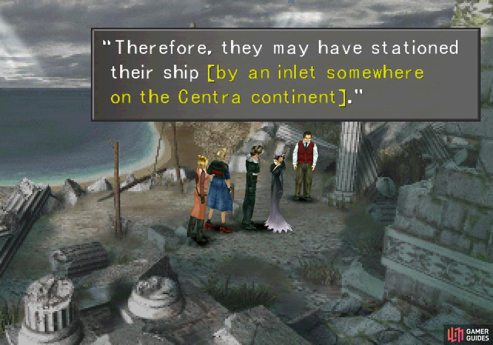 Return to Edea and she'll give you a letter and a rough clue of where to look for the White SeeD ship