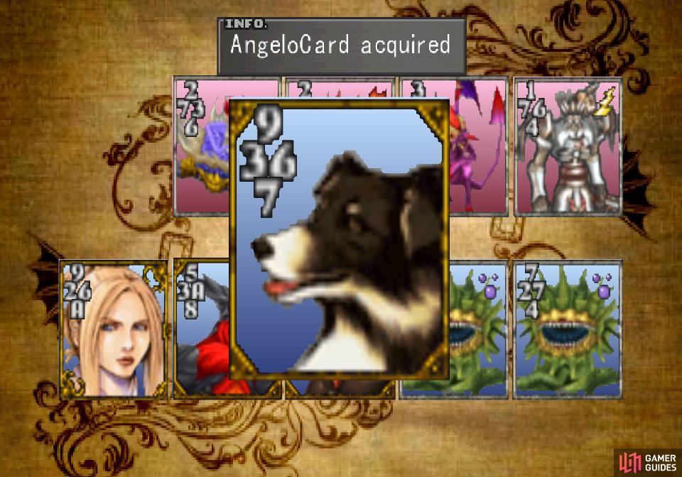 and claim the Angelo card as your own