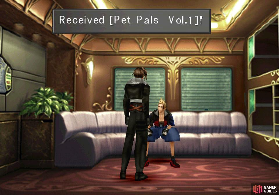 Zell will hand over Pet Pals Vol.1