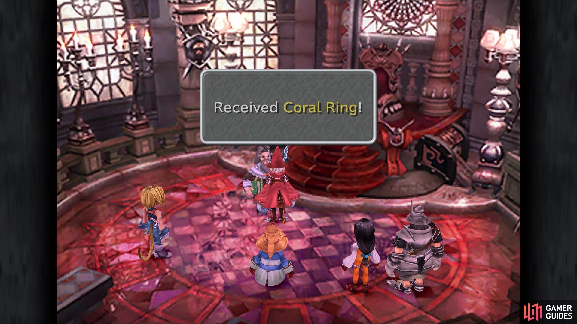Freya winning will get you the much better Coral Ring