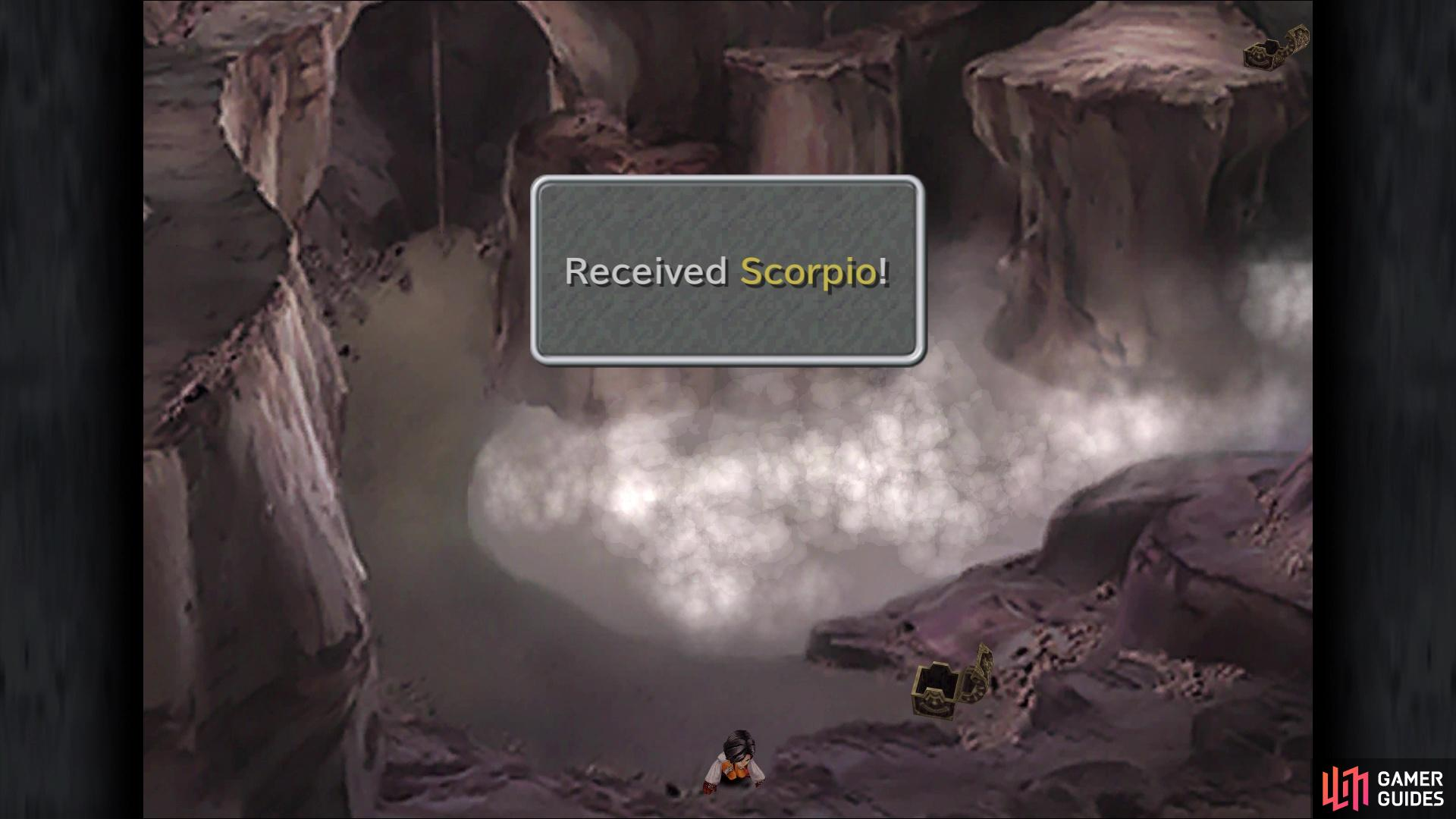 You can find the Scorpio coin at the bottom of the first screen in Quan's Dwelling