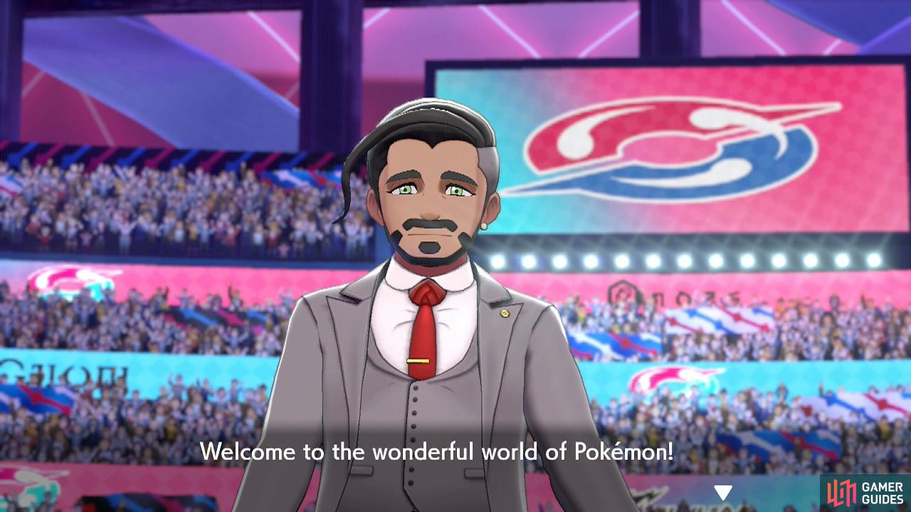 In the Galar region, Pokémon battling is seen as a sport, like football.