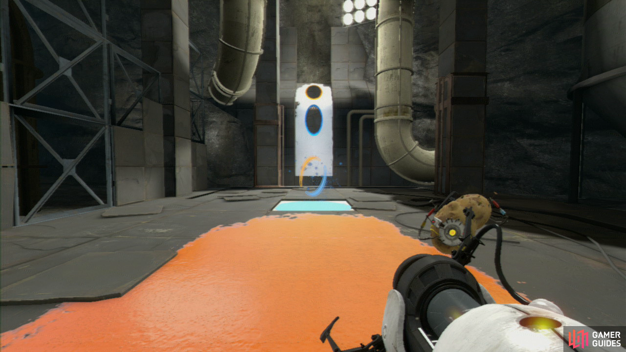 Chamber 7 / Chapter 7 - The Reunion / Portal 2 Strategy ...