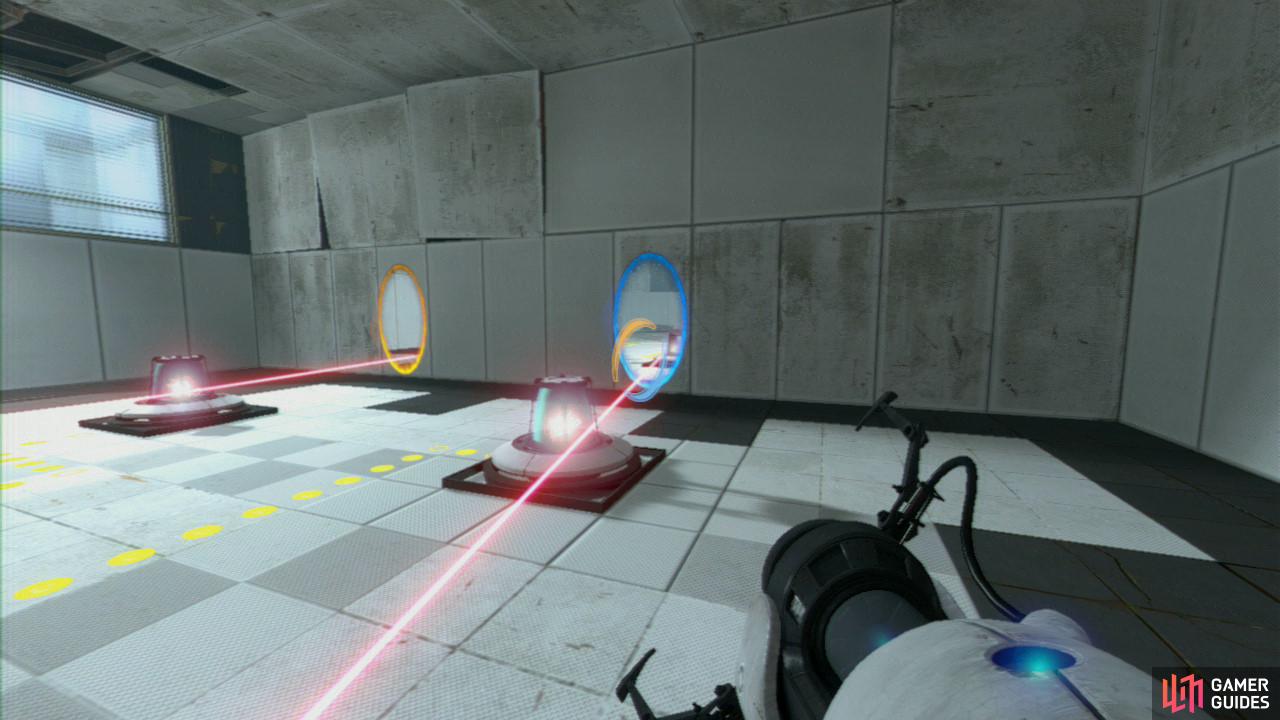 Portal  First Laser Wall Room