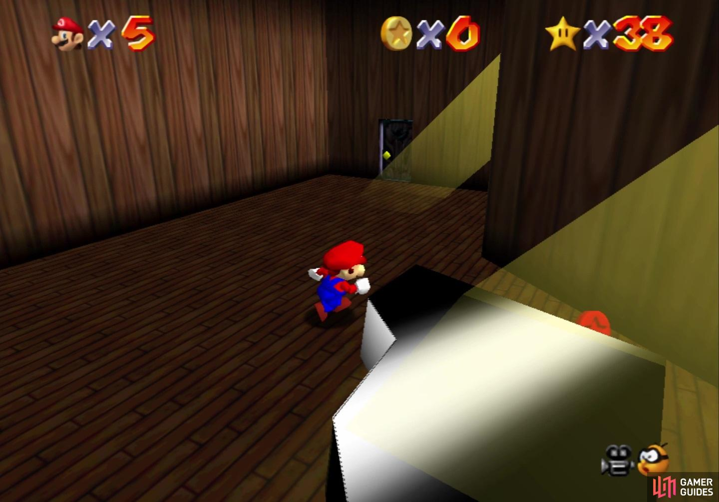 mario 64 seek the 8 red coins