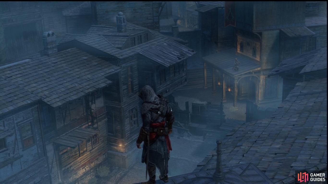 The Den Defense minigame is first introduced in Sequence 2, and can prove to be quite difficult to pull off in later stages of the game.  When you raise your Templar awareness to the max (usually through completing Primary Memories, buying up shops and landmarks, and even just the occasional brawling with Byzatine Templars in the streets, of course), the meter will become a solid bar of red. In this state, doing anything that would normally raise your Templar awareness will return your awareness to secret, and the Templars will launch an assault on one or more of your liberated Assassin Dens.  In this instance, the Den's map icon will flash yellow and you'll be advised to head over there to defend - don't panic though, you won't actually lose the Den unless you fail the defense. However, it does add a significant number of Templars to the area, and will make staff the guard posts with riflemen and make the area restricted.  To defend the Den, you'll need to make your way to the doorway and interact with it while Anonymous, so use your Assassin Signals and ranged attacks to keep them away from you.