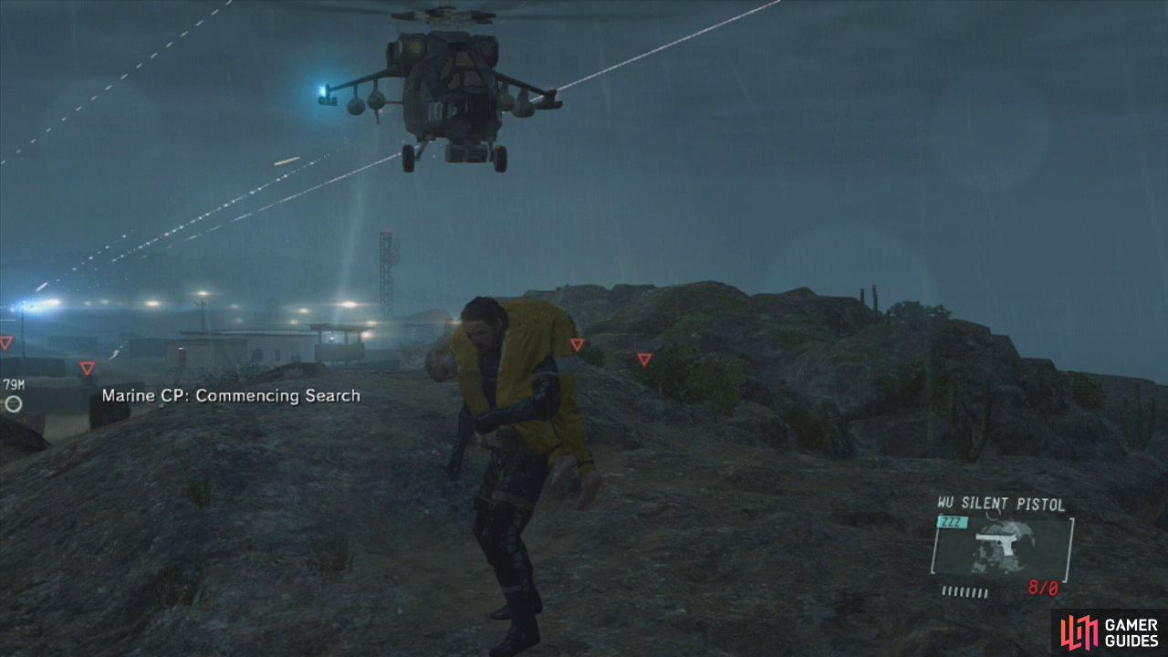 Summon the helicopter to your extraction point of choice and get on to end the mission.