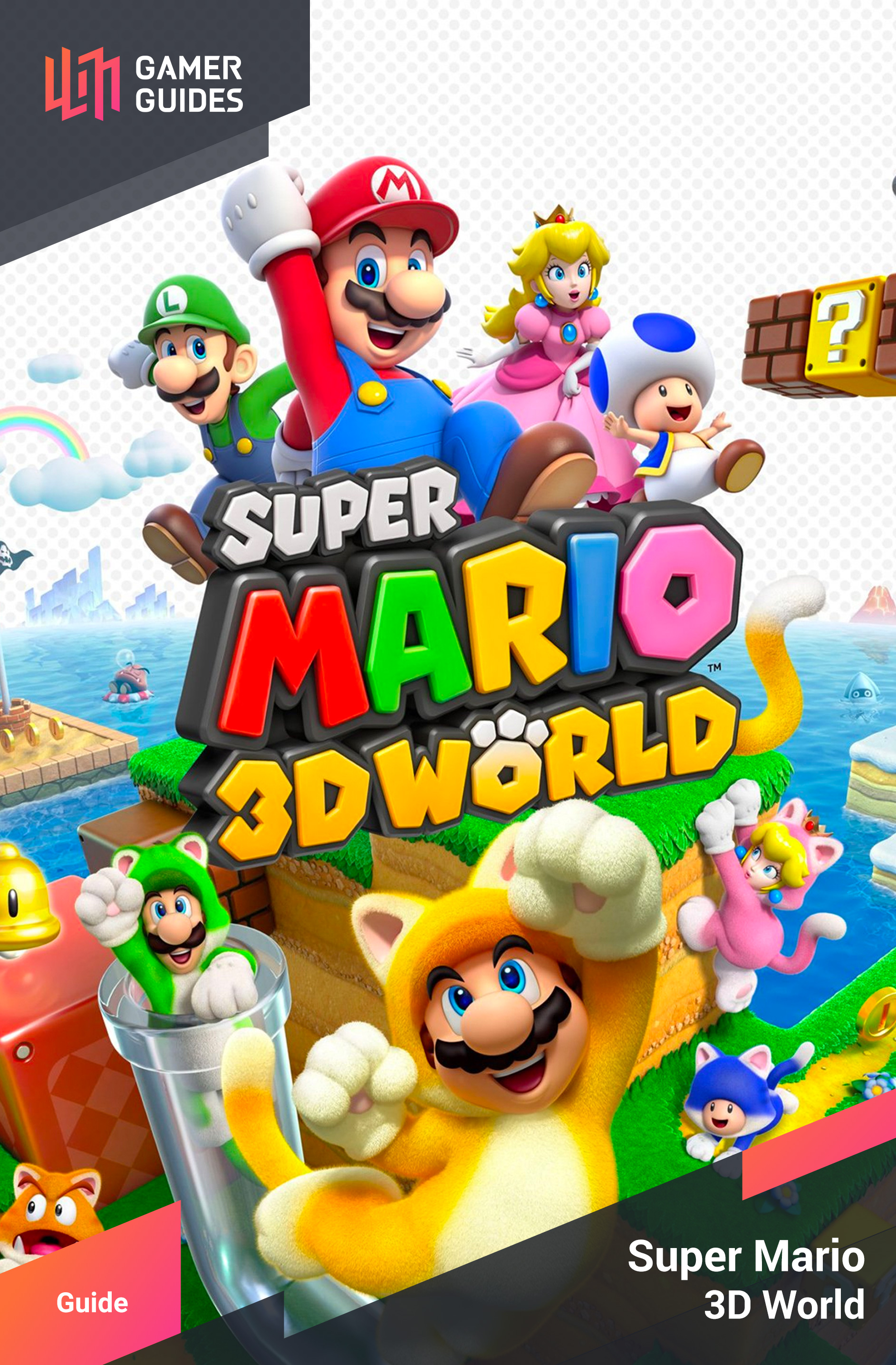 World Star 1 Rainbow Run Super Mario 3d World Gamer Guides