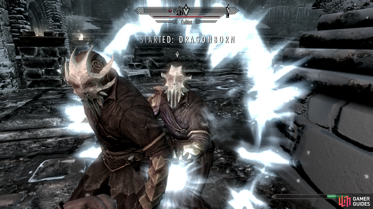 how to start dragonborn main quest