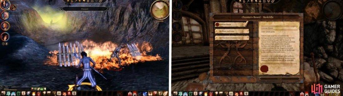Dragon age origins redcliffe walkthrough