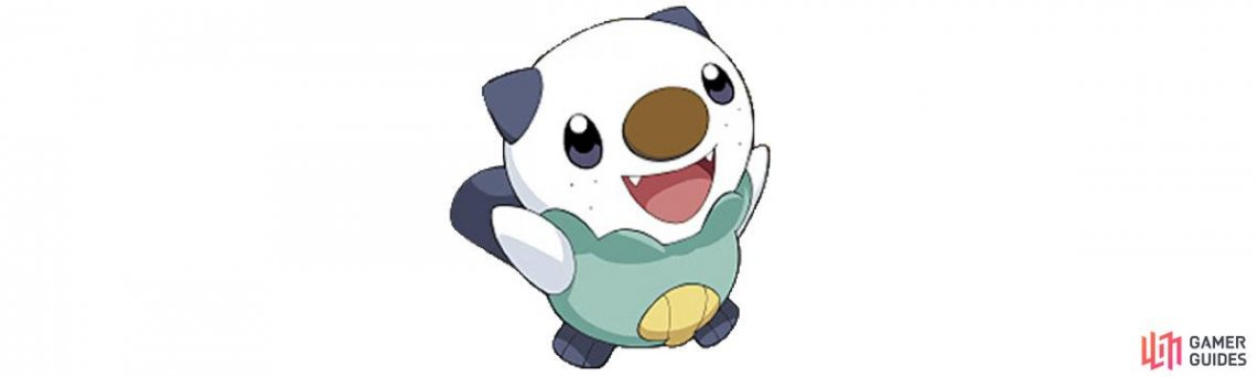 Oshawott is a water type.