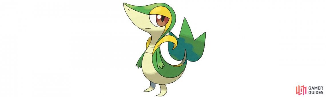 Snivy is a grass type.