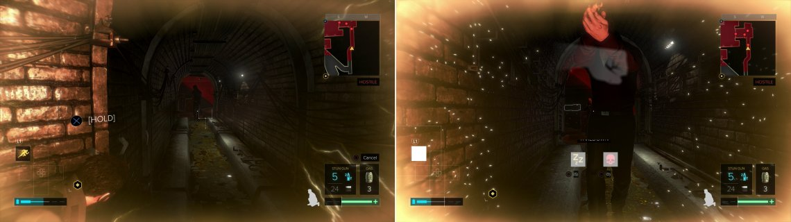 "Crouch, hide behind a corner, and charge up ""Icarus Dash"" (left), then smash the first enemy that comes close to earn the ""Ramming Speed!!!"" trophy/achievement (right)."