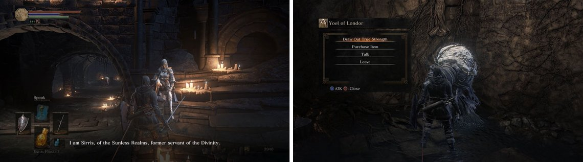 Road Of Sacrifices The Lords Of Cinder Walkthrough Dark Souls Iii Gamer Guides So for those of you who dont know, yoel has at least 2 direct impacts on the game other than dropping dead lol, 1 drawing out your true strength the start of her questline involves yoel of londor & later parts will require both yuria and orbeck. road of sacrifices the lords of