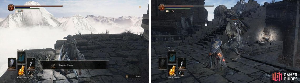 Archdragon Peak The Lords Of Cinder Dark Souls Iii Gamer Guides Titanite chunk for weapon reinforcement. gamer guides