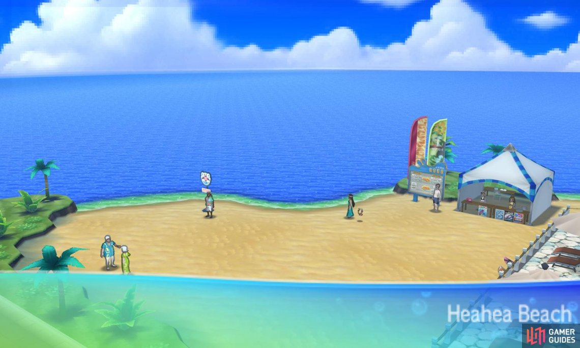 Your arrival on Akala Island starts differently to Sun and Moon.