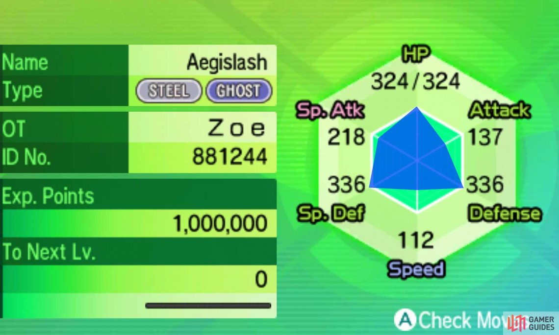 Want offense and defense all in one? Aegislash has you covered!