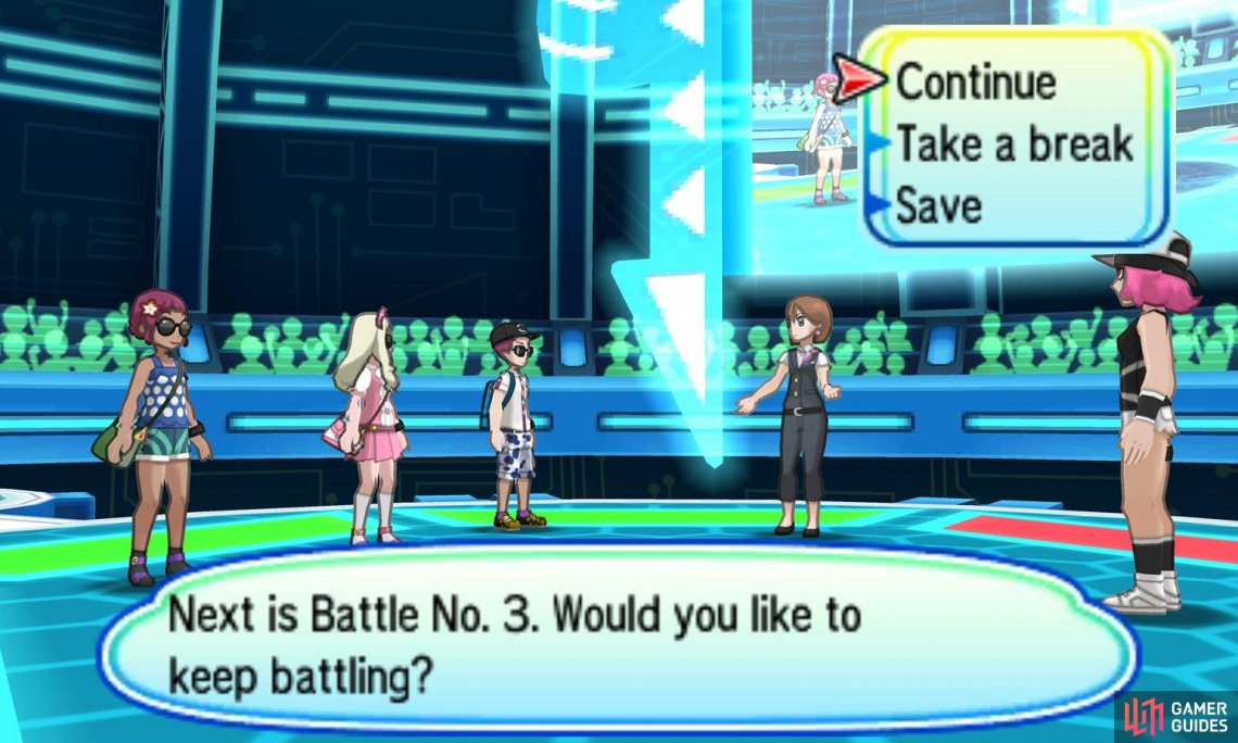 In each round, you fight 3 opponents, each with 3 Pokemon.