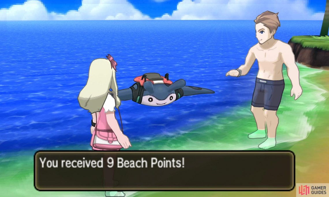 Beach Points are interchangeable with Battle Points.