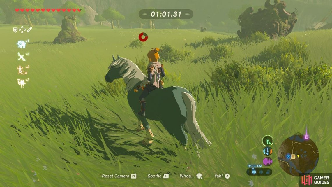 Wild Horses Sidequests Quests The Legend Of Zelda Breath Of The Wild Gamer Guides