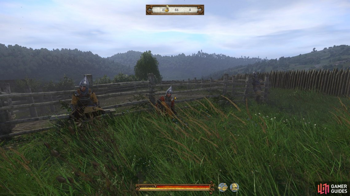 You will find Odd Bird waiting with three bandit brawlers, all dressed as Cumans, at the combat arena in Skalitz.