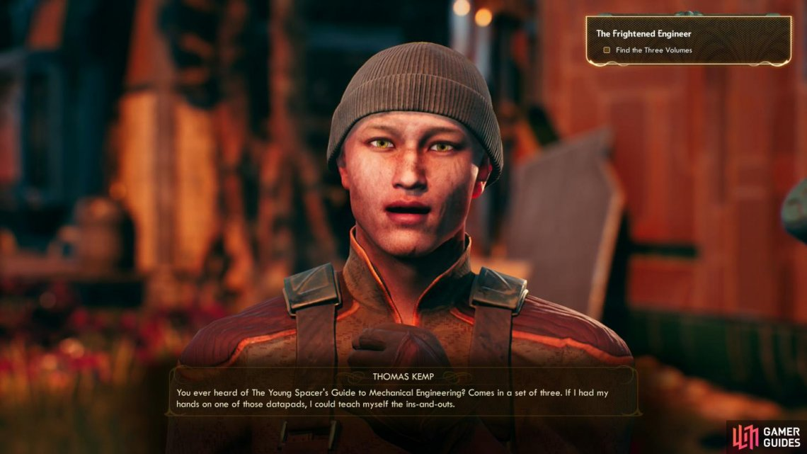 The Frightened Engineer Side Quests Walkthrough The Outer Worlds Gamer Guides The frightened engineer is a side quest in the outer worlds. outer worlds
