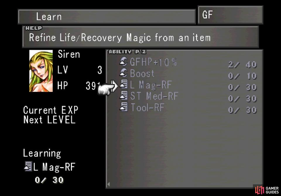 Learn the L Mag-RF ability with Siren