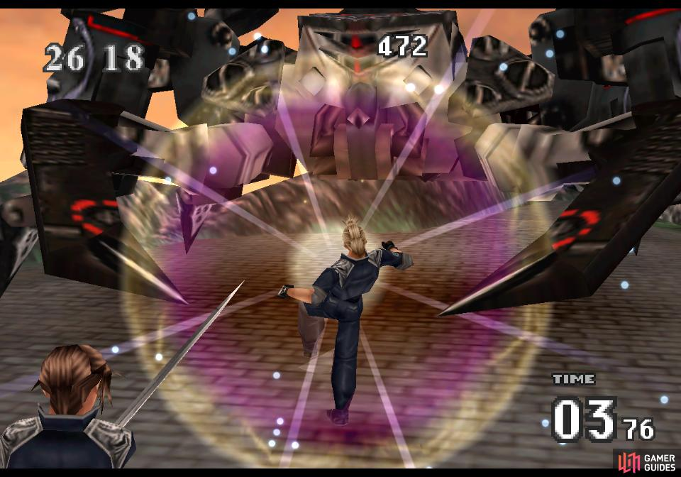 A high-powered Zell can easily drop X-ATM092 with his Limit Break