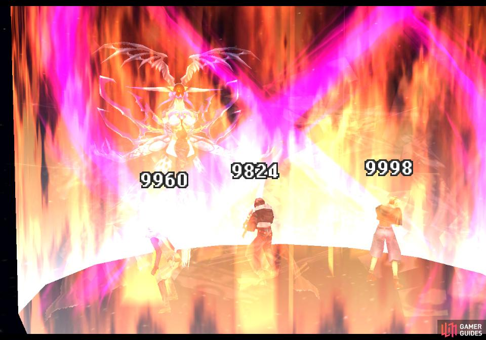 Ultimecia's Hell's Judgement attack will reduce every character to 1 HP.