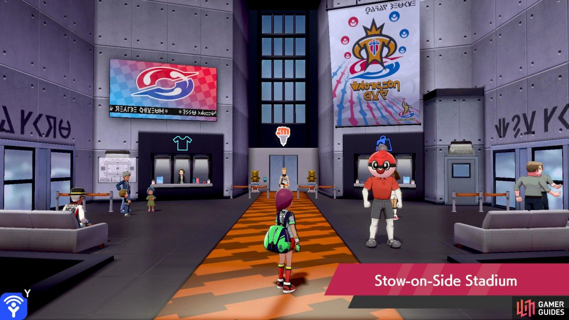 The stadium–and the Gym mission–are basically the same in both versions, but with a different coat of paint.