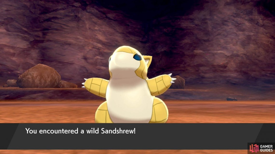 You can also trade a Sandshrew caught here for an Alolan one elsewhere.