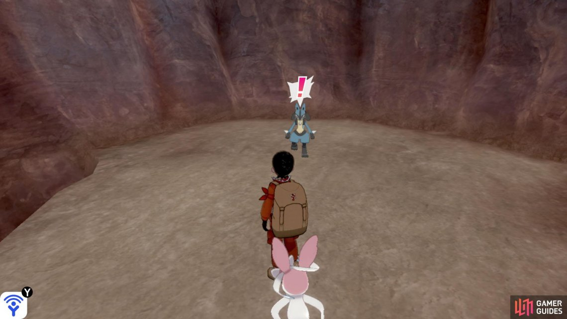 You haven't lived until you've been chased by a Lucario.