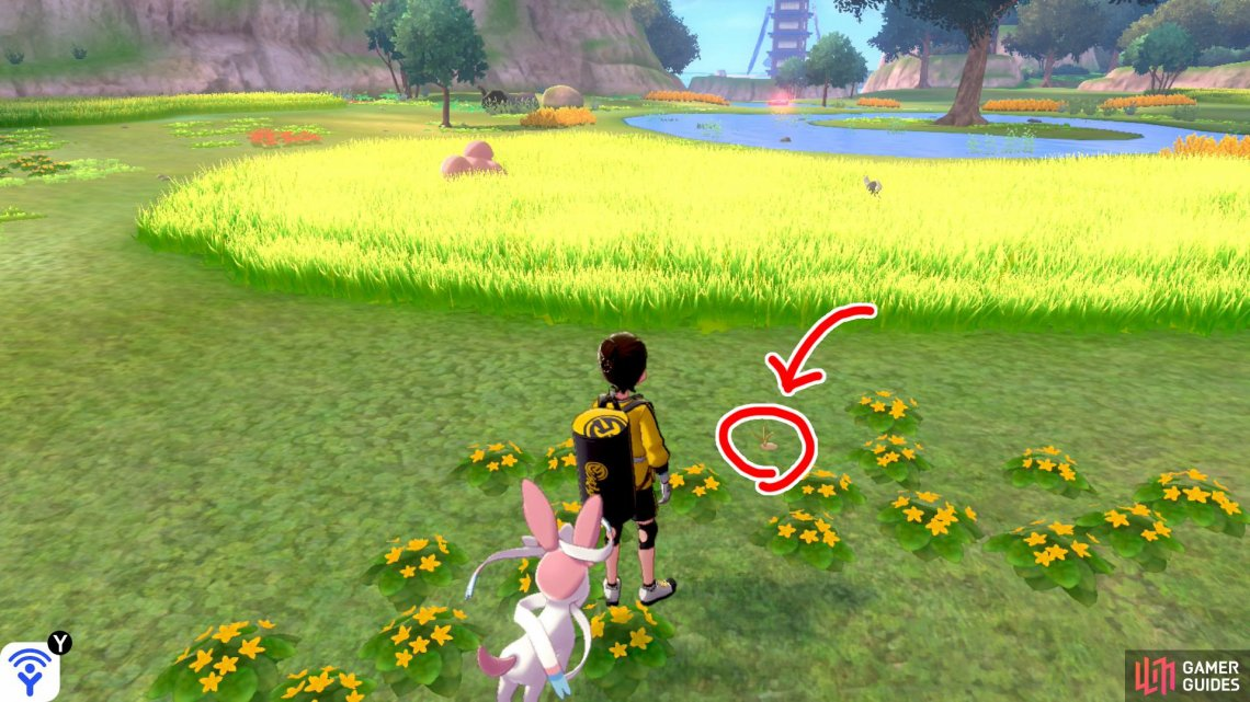 6/20: From the Fields of Honor entrance, turn left and go past the skinny tree. Keep to the right of the tall grass on the left. As the tall grass ends, there's a shallow pool on the right. Check the yellow flowers above the pool.