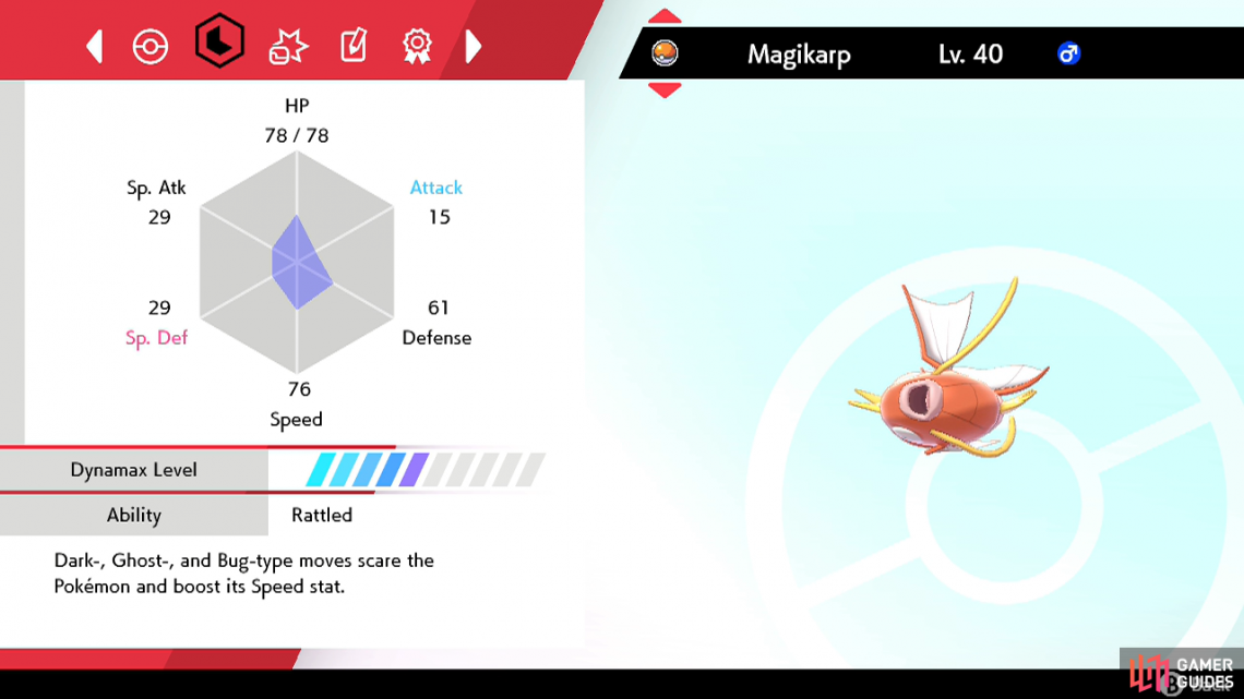 We'll be breeding a Hidden Ability Magikarp so it gets Moxie as a Gyarados.