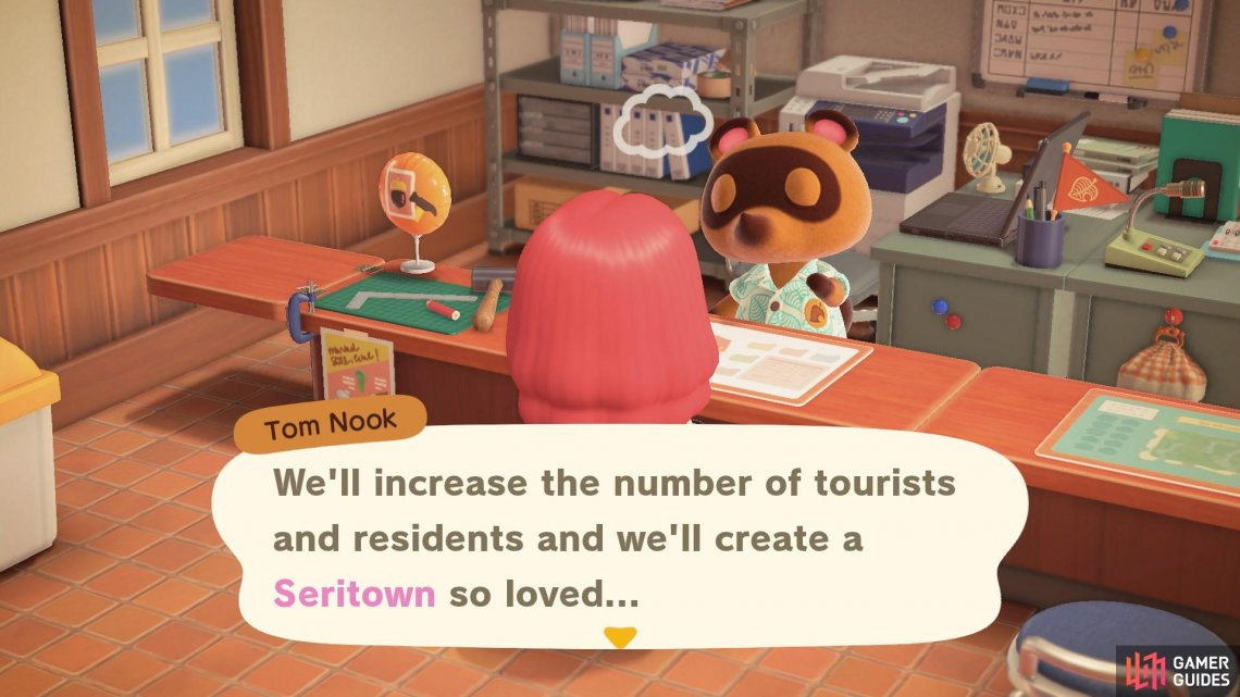Nook really wants K.K. to perform on your island.