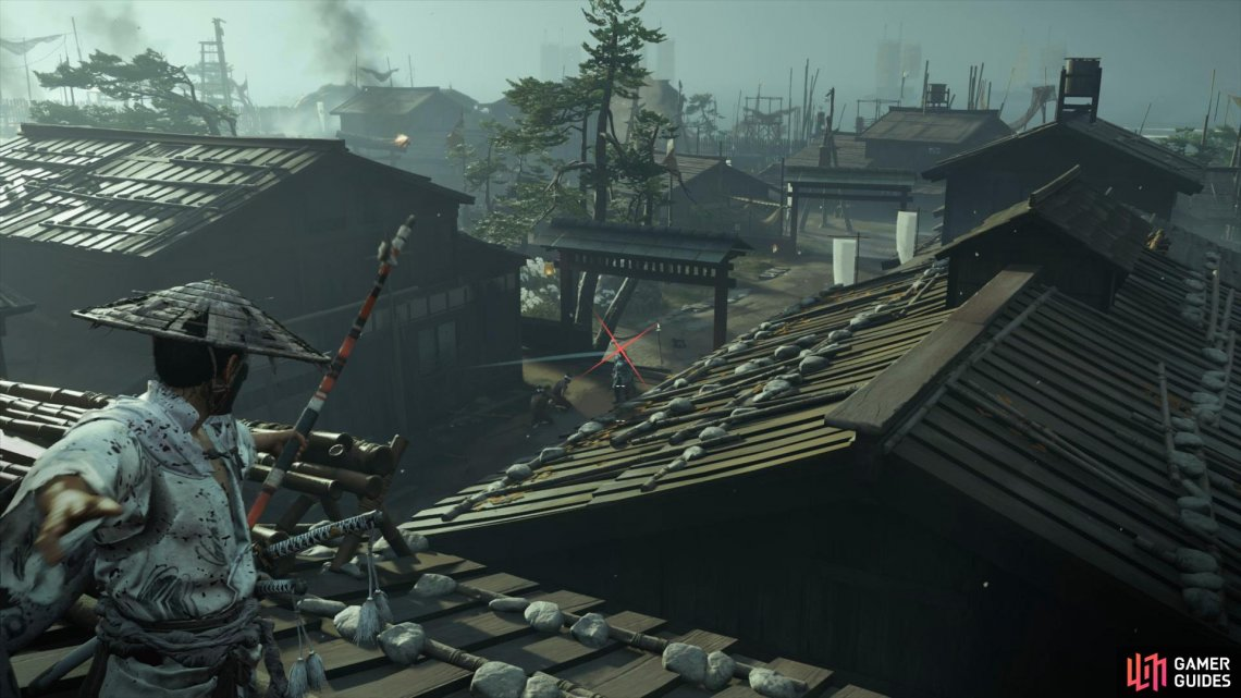 Use the Roofs to take down the enemies