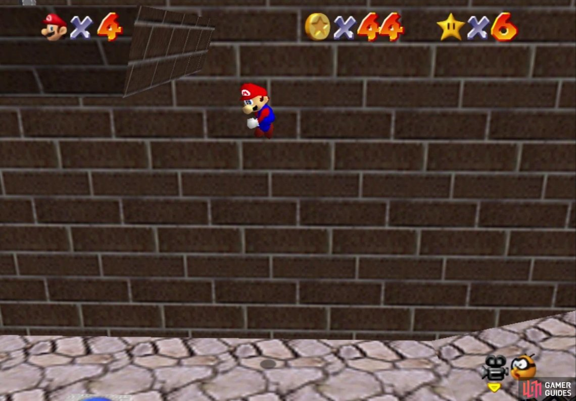 Wall jumping up to the ledge with the star is pretty easy to do