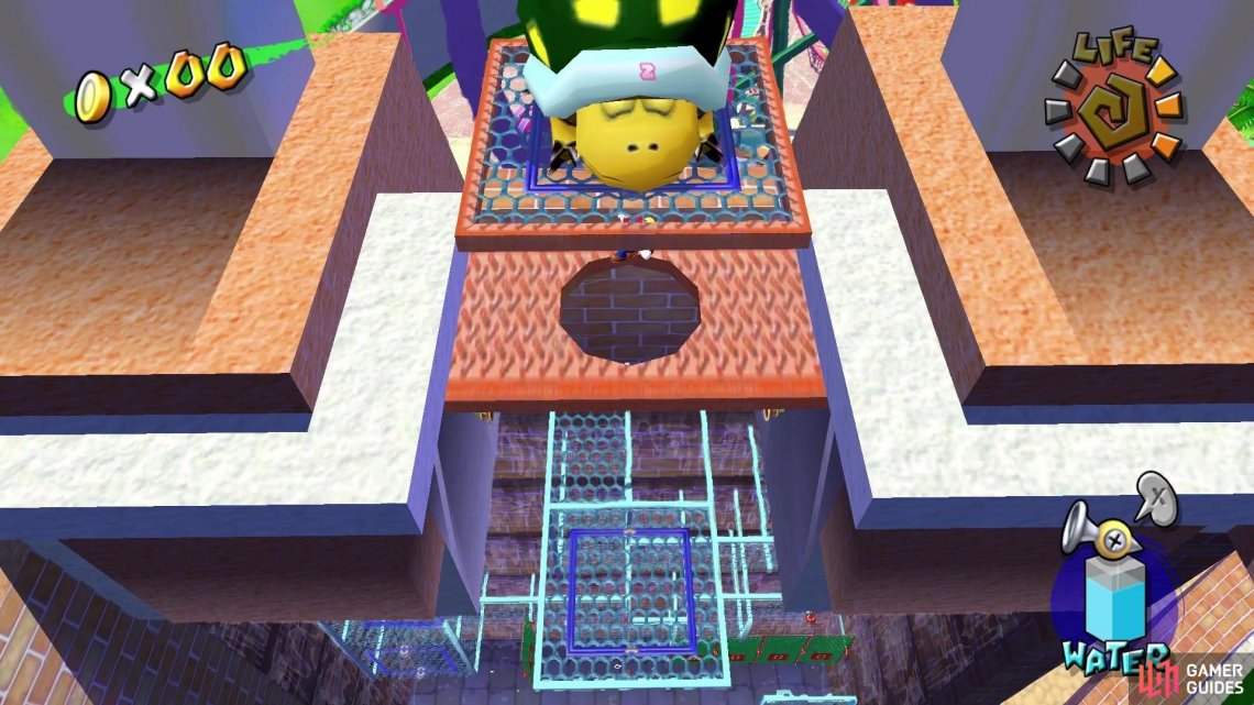 Jump up and launch the Koopa off the Ferris Wheel!