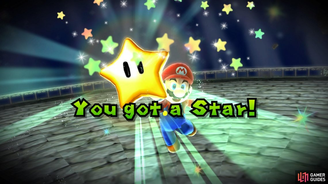 If you succeed in taking no damage and defeating the boss, you get a Star!