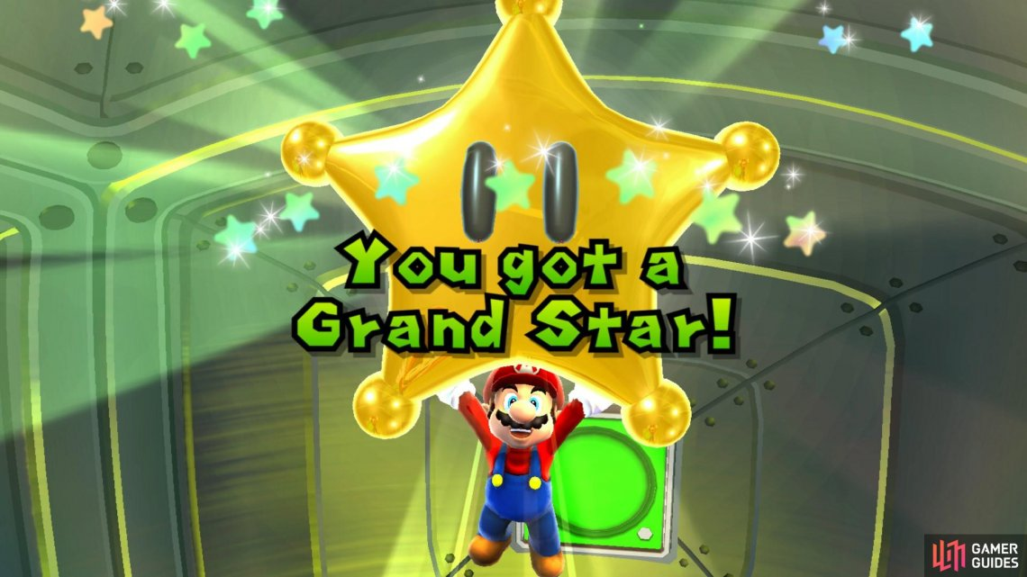 Congratulations on your first Grand Star!