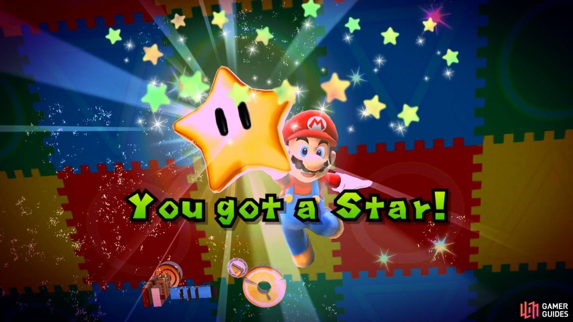 Make sure you leave yourself a way to get back to the start of the level so you can grab the star!